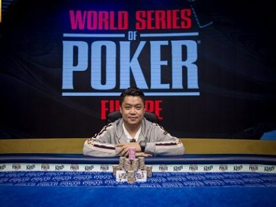 WSOPE: Ivan Leow chinh phục €100K Leon's High Roller, Michael Soyza top 3